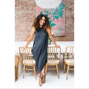 🆕Hatch The Highline Asymmetric Dress Charcoal 3
